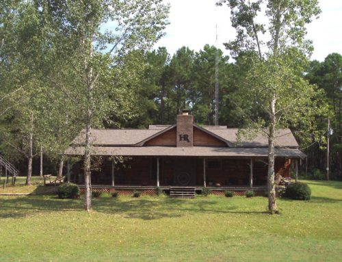 Alabama Whitetail hunting lodge